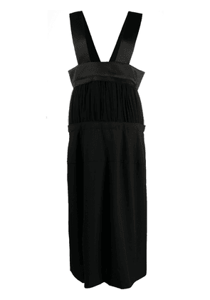 Comme Des Garçons tiered high-waisted skirt - Black