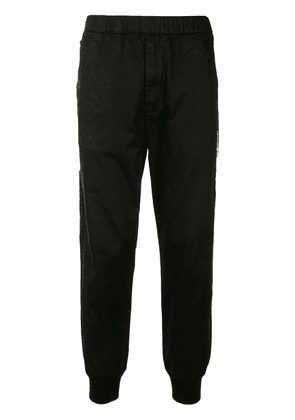 AAPE BY *A BATHING APE® Aape Universe tapered trousers - Black