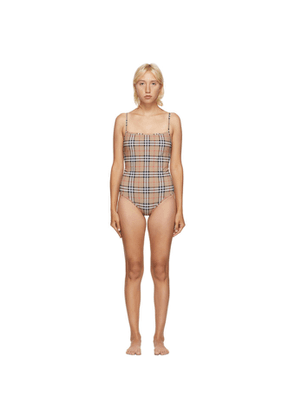 Burberry Beige Delia One Piece