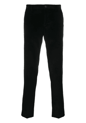 Dolce & Gabbana slim-fit corduroy trousers - Black