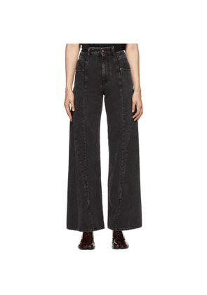 Maison Margiela Black Spliced Jeans