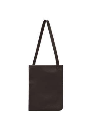 Lemaire Brown Nappa Leather Tote