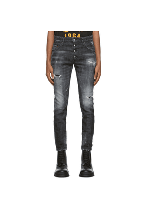 Dsquared2 Black Ripped Skater Jeans