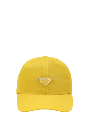 Logo Patch Nylon Baseball Cap