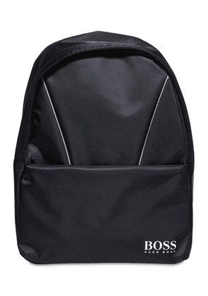 Logo Jacquard Nylon Backpack