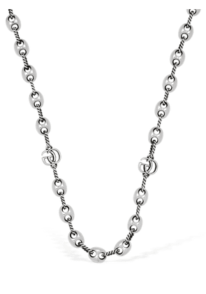 45cm Gg Marmont Necklace W/ Marina Chain