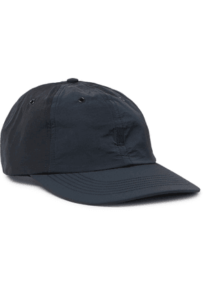 Norse Projects - Logo-Embroidered Garment-Dyed Nylon Baseball Cap - Men - Blue