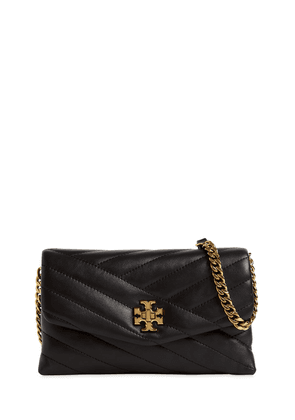 Kira Quilted Leather Chain Wallet Bag