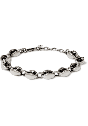 SAINT LAURENT - Silver-Tone Bracelet - Men - Silver
