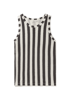 SAINT LAURENT - Slim-Fit Striped Cotton-Jersey Tank Top - Men - Multi