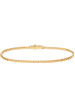 Tom Wood - Gold-Plated Sterling Silver Chain Bracelet - Men - Gold