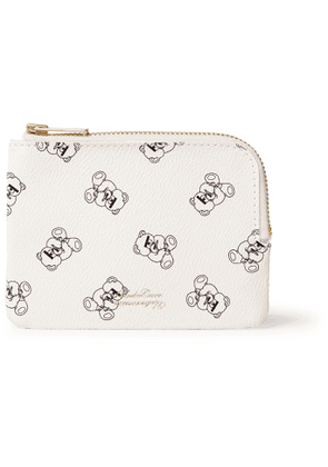 Undercover - UBEAR Printed Faux Leather Wallet - Men - White