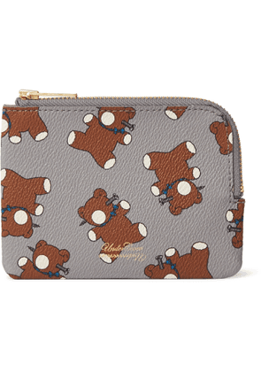 Undercover - Printed Faux Leather Wallet - Men - Gray