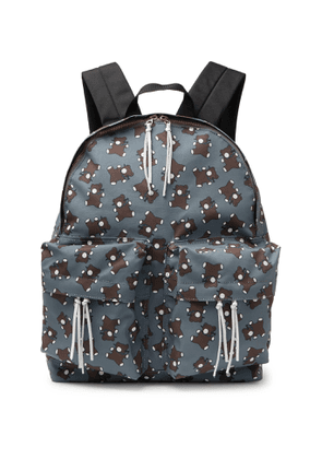 Undercover - Screwbear Printed Canvas Backpack - Men - Gray
