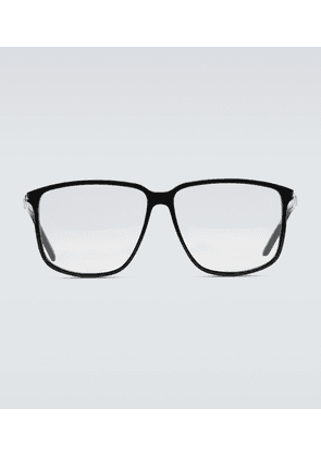 Square-frame glasses