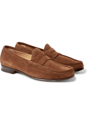 Yuketen - '70s Leather Penny Loafers - Men - Brown