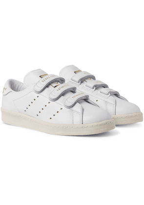 adidas Consortium - Human Made Printed Leather Sneakers - Men - White