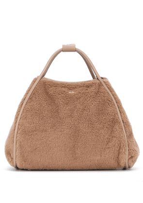 Tmarin Large camel wool and silk tote