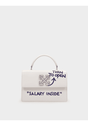 Quote Jitney 1.4 Handbag in Purple Leather