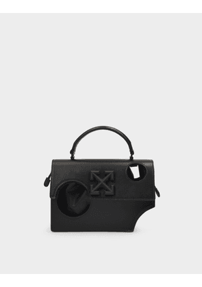 Hole Quote Jitney 1.4 Handbag in Black Leather