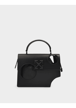 Hole Quote Jitney 2.8 Handbag in Black Leather
