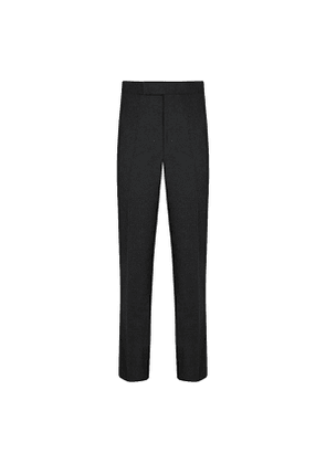 Olive VBC Flannel Contemporary Trousers