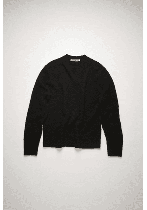 Acne Studios FN-MN-KNIT000224 Black Pilled wool blend sweater
