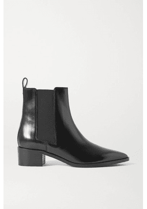 aeyde - Lou Leather Chelsea Boots - Black