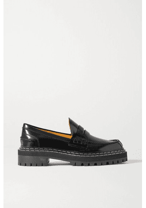 Proenza Schouler - Leather Loafers - Black