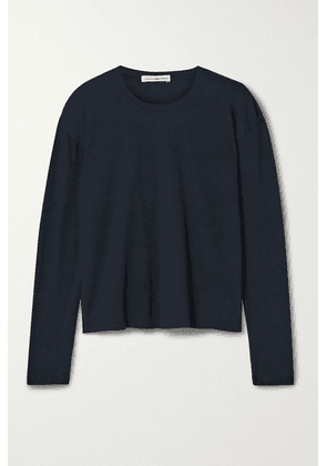 James Perse - Cotton-jersey Top - Navy