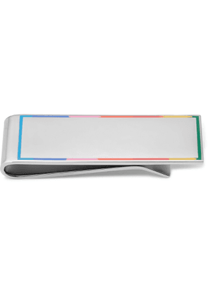Paul Smith - Silver-Tone and Enamel Money Clip - Men - Silver