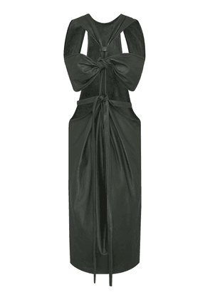 Christopher Esber Knotted Leather Dress