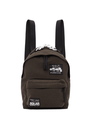 Raf Simons Brown Eastpak Edition Mini Patches Backpack