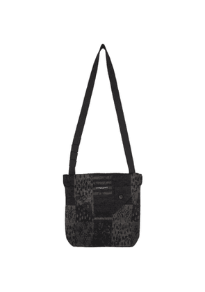 Engineered Garments Black and Grey Chenille Tote