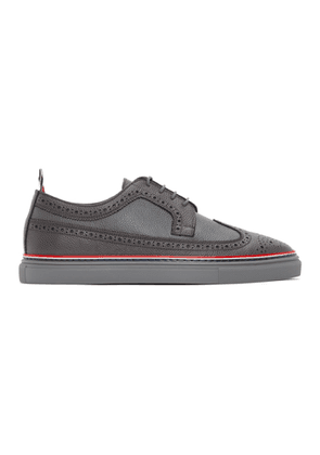 Thom Browne Grey Cupsole Longwing Brogues