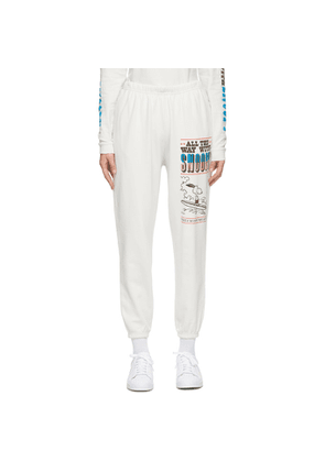 Marc Jacobs Off-White Peanuts Edition The Gym Lounge Pants