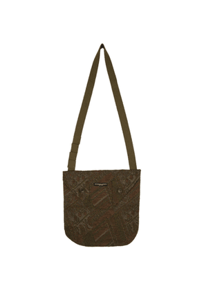 Engineered Garments Khaki and Brown Chenille Tote