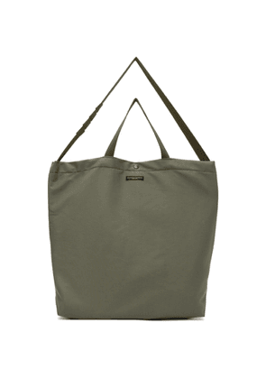 Engineered Garments Khaki Cotton Carry-All Tote