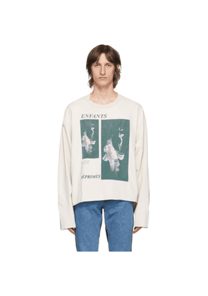 Enfants Riches Deprimes Off-White Geisha Long Sleeve T-Shirt