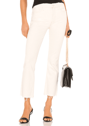 MOTHER The Insider Ankle Fray in Neutral. Size 23.