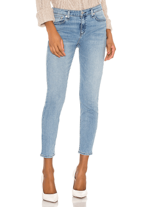 Rag & Bone Cate Mid Rise Ankle Skinny in Blue. Size 27.