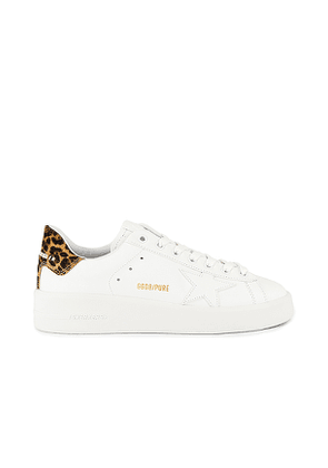 Golden Goose Pure Star Sneaker in White. Size 39.