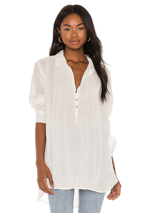 Free People Waverly Tunic in White. Size S,XS.