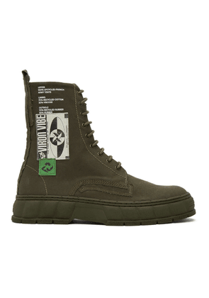 Viron Khaki Upcycle 1992 Boots