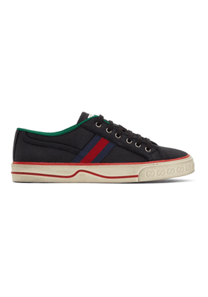 Gucci Black GG Gucci Tennis 1977 Sneakers