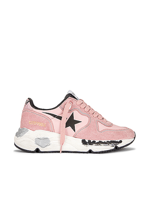 Golden Goose Running Sole Sneaker in Pink & Black - Pink. Size 38 (also in 39,40).
