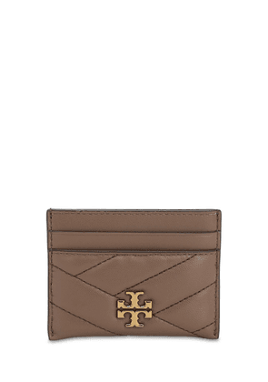 Kira Quilted Leather Card Holder
