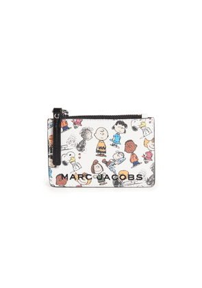 The Marc Jacobs x Peanuts Top Zip Multi Wallet