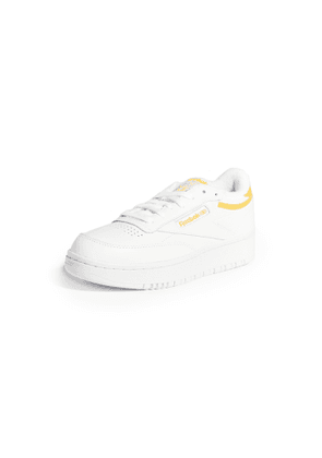 Reebok Club C Double Lace Up Sneakers