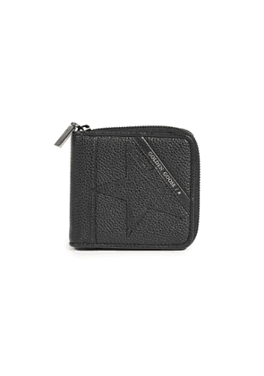 Golden Goose Star Medium Zip Wallet